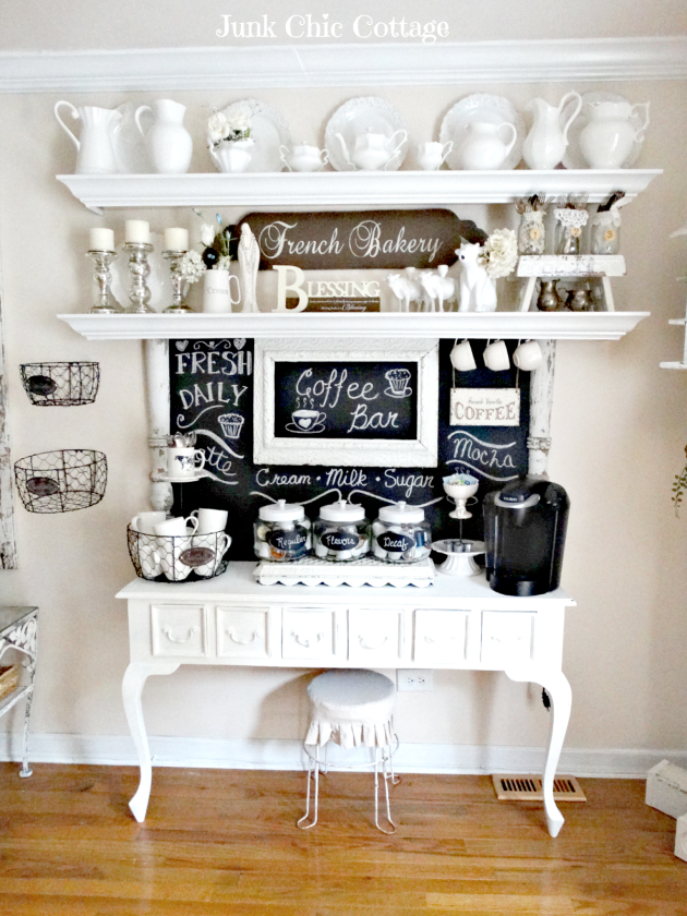 Junk Chic Cottage - Coffee Bar