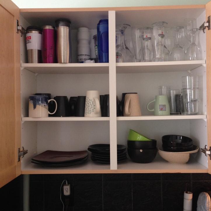 Decluttering Kitchen
