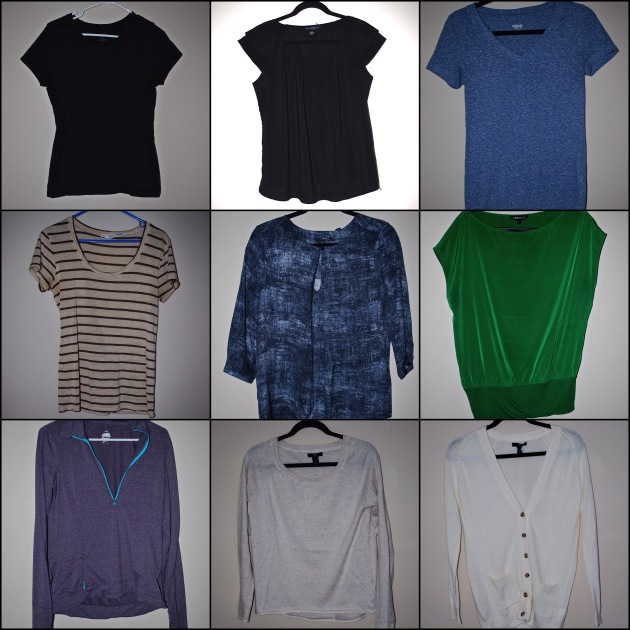Fall 2014 Capsule Wardrobe Tops