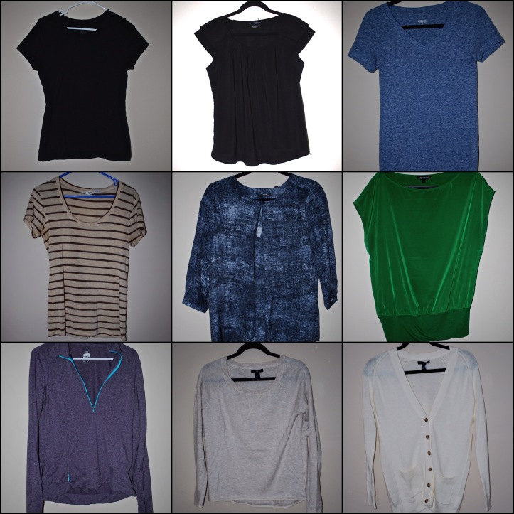 Fall 2014 Capsule Wardrobe Tops